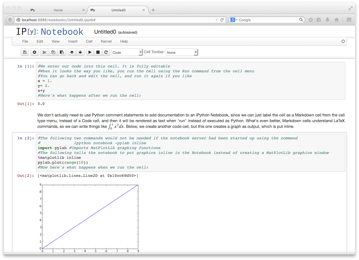 Learning python more about notebooks as i transition my instructional material to make use of this very powerful new feature my quick start notebook tutorial is here baditri Gallery